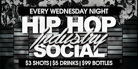 Hip Hop Industry Social Wednesdays @ The Radler tickets