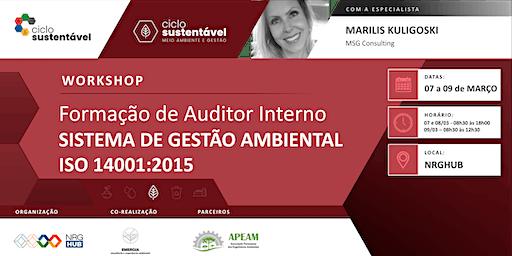 Formação de Auditor Interno - Sistema de Gestão Ambiental ISO 14001:2015