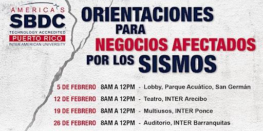 Orientación para Afectados por Sismos (Ponce)
