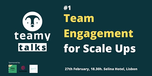 Teamy Talks #1 Team Engagement for Scale Ups