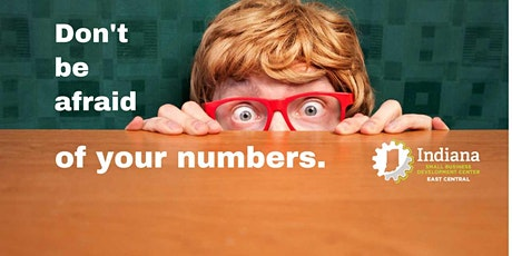 Don't be afraid of your numbers. tickets