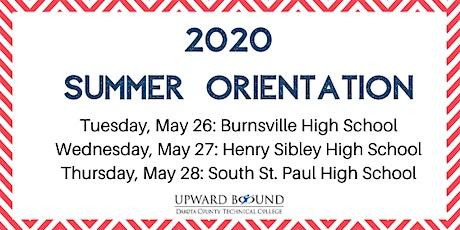 UB Summer Orientation tickets