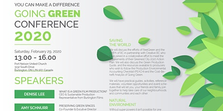 Going Green: Learn How to Save Money, Help the Environment and Boost Morale tickets