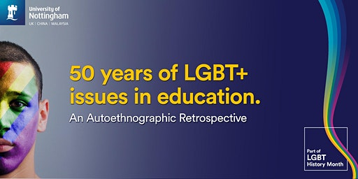 50 years of LGBT+ issues in Education