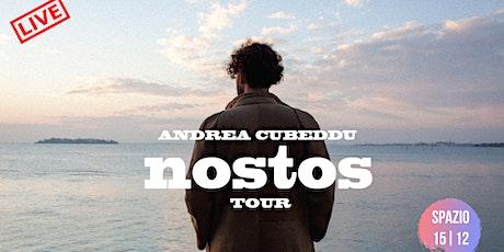 """Live Andrea Cubeddu - new album """"Nostos"""" biglietti"""