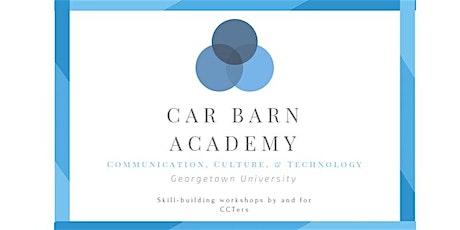 Car Barn Academy Workshop: Networking & Narrative, Friends & Coffee tickets