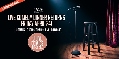 Live Comedy Dinner Command Performance! tickets