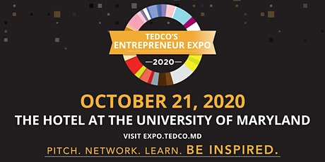 TEDCO's Entrepreneur Expo 2020 tickets