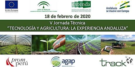 V JORNADA - TECNOLOGÍA Y AGRICULTURA - LA EXPERIENCIA ANDALUZA (ESPAÑA) entradas