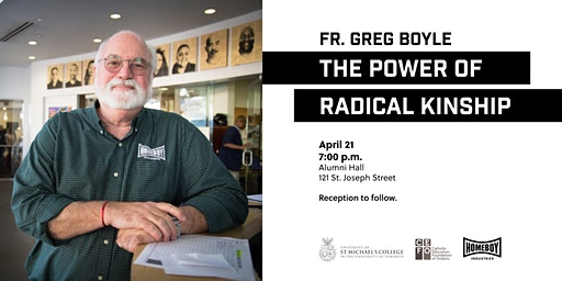 """The Power of Radical Kinship,"" a talk by Fr. Greg Boyle, SJ"