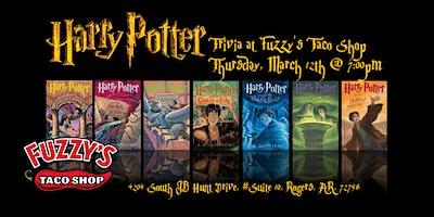 Harry Potter Books Trivia at Fuzzy's Taco Shop