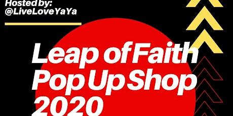 Leap of Faith Pop Up Shop: Vendor Registration tickets