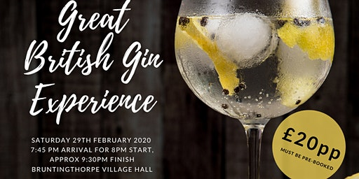 Great British Gin Experience