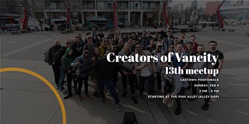 Creators of Vancity Photowalk - Gastown