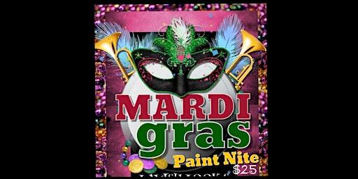 Mardi Gras Paint Nite