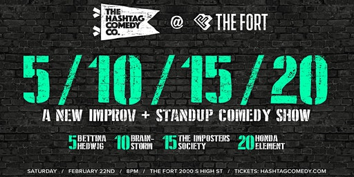 5/10/15/20: a New Improv and Standup Comedy Show