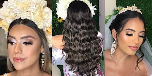 Intensivo de novias Peinado y maquillaje