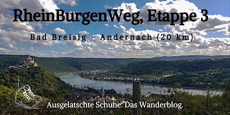 RheinBurgenWeg, Etappe 3: Bad Breisig - Andernach Tickets