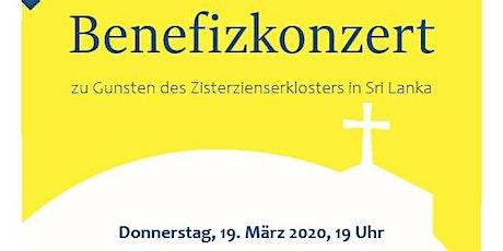 """Benefizkonzert für Zisterzienserkloster in Sri Lanka: """"Winterreise"""" Tickets"""