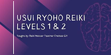 Reiki 1 & 2 Certification Course tickets