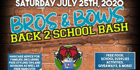 Bros & Bows Back 2 School Bash tickets