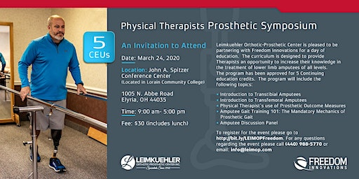 Physical Therapists Prosthetic Symposium