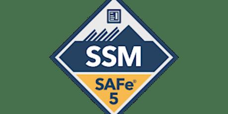 Online SAFe® Scrum Master Certification(SSM), San Diego ,CA -Weekend Batch tickets