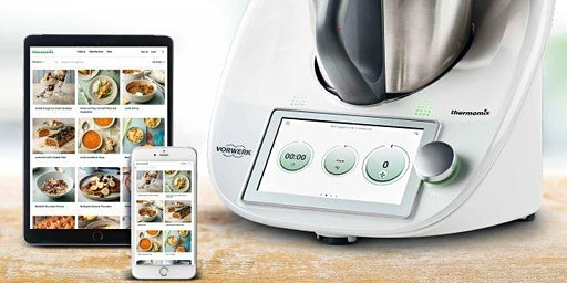 THERMOMIX  TM6 Cooking class basic demonstration connected cooking robot