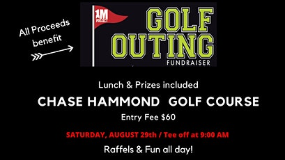1M Project Annual Golf Outing Fundraiser tickets