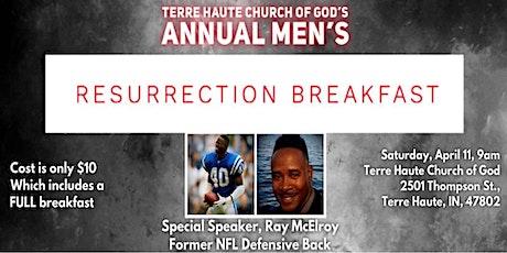 Men's resurrection Breakfast tickets