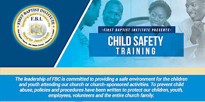 First Baptist Church Child Safety Training