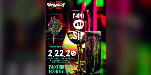 Paint n Sip: Intention Edition