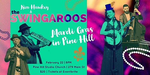 Mardi Gras in Pine Hill | Kim Hawkey & The Swingaroos