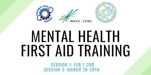 Mental Health First Aid Training - March
