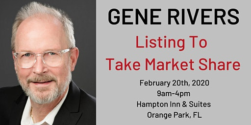 Listings to Take Market Share W. Gene Rivers