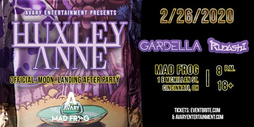 Official. Moon. Landing. Afterparty: Huxley Anne