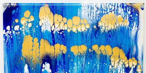 Square Lemon Presents ErRatical Kreations' Acrylic Pour Workshop