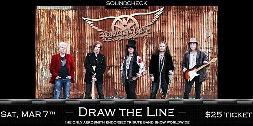 Draw The Line (Aerosmith Tribute) at Soundcheck Studios