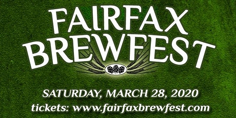 25th Annual FAIRFAX BREWFEST Spring Celebration tickets