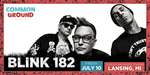 Common Ground presents Blink 182