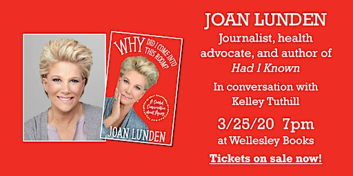 "Joan Lunden presents ""Why Did I Come into This Room?"""
