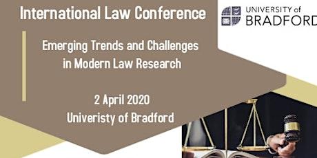University of Bradford Postgraduate International Law Conference 2020 tickets