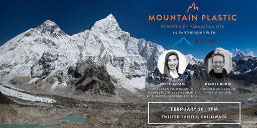 Mountain Plastic: Powered by Himalayan Life: VIP Event with Dr. Joyce Azzam