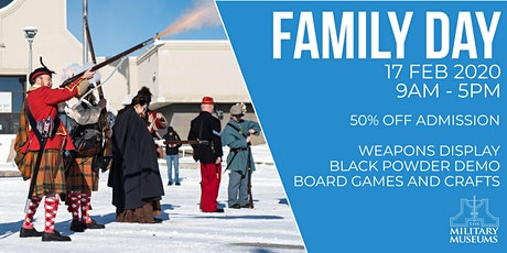 Family Day at The Military Museums tickets