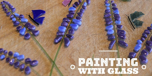 Painting With Glass: Spring Lavender