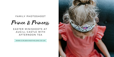Prince & Princess Family Minishoots with Afternoon Tea at Augill Castle