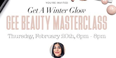 Gee Beauty Winter Makeup Masterclass tickets