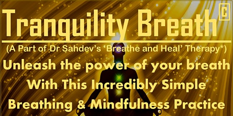 Vedic Meditation - Tranquility Breath Introductory Session tickets