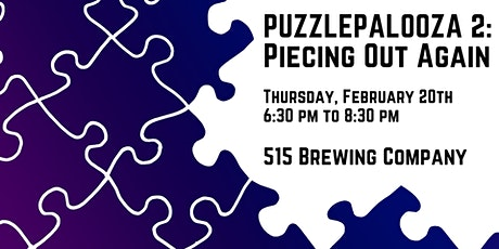 Puzzlepalooza 2: Piecing Out Again tickets