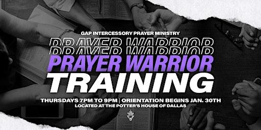 Prayer Warrior Training